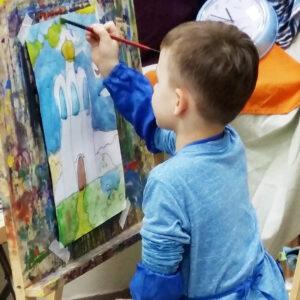 Рисование для детей 4-7 лет, миниатюра