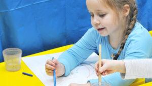 Рисование для малышей, студийные занятия