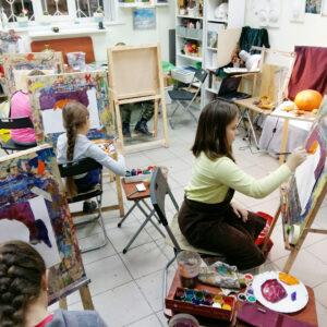 Живопись и рисунок для детей от 8 лет,, миниатюра
