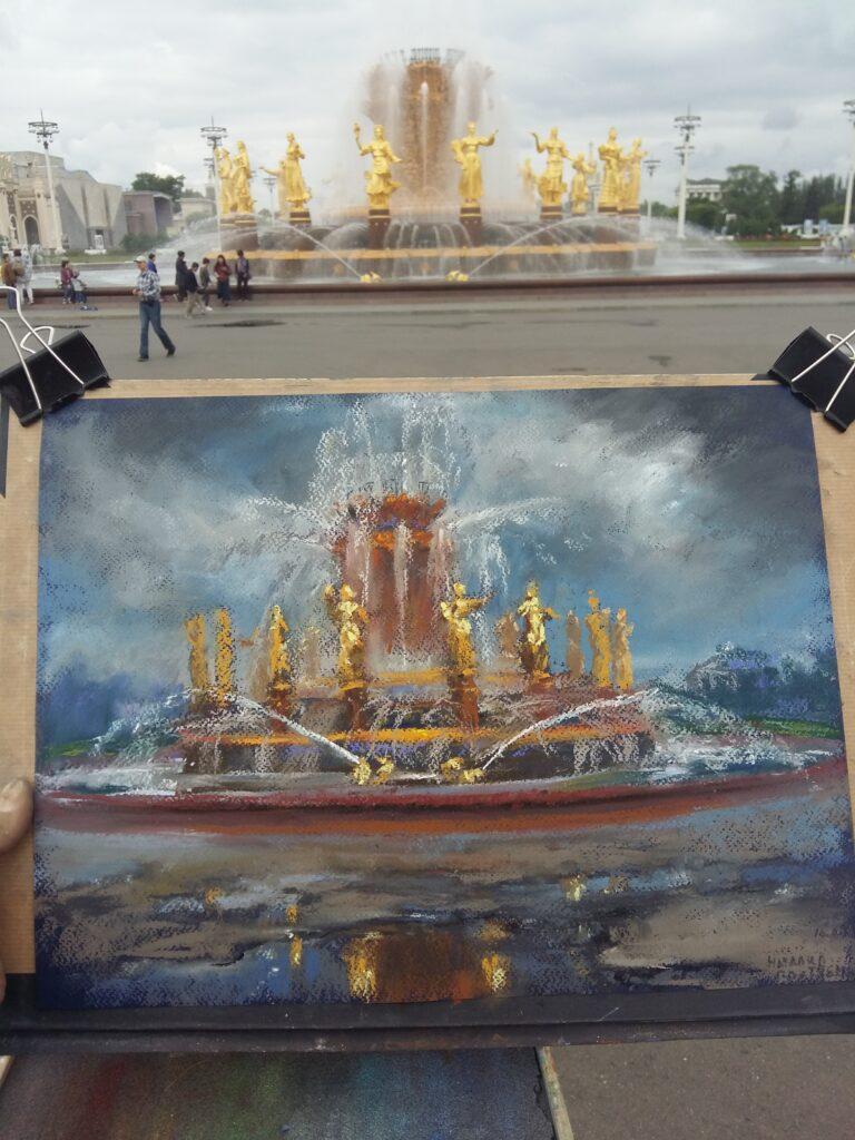 Пленэры в Москве (19)