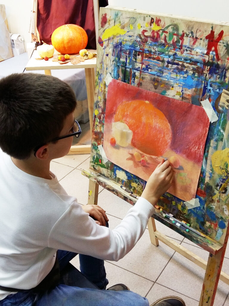 Живопись и рисунок для детей от 8 лет (5)