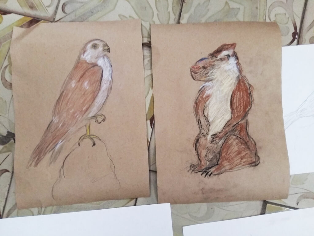 Живопись и рисунок для детей от 8 лет (89)