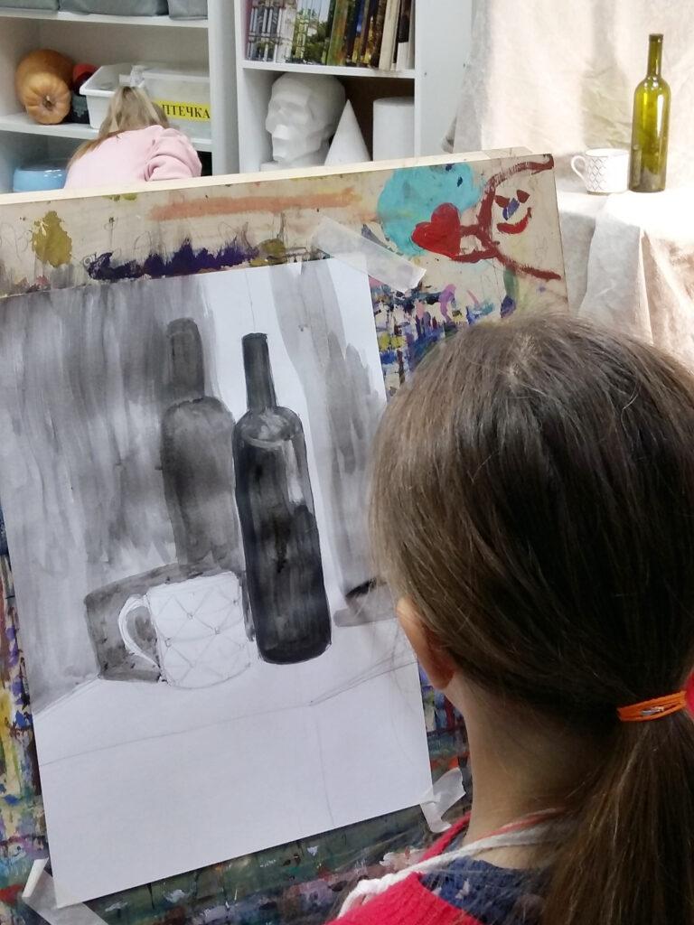Живопись и рисунок для детей от 8 лет (73)