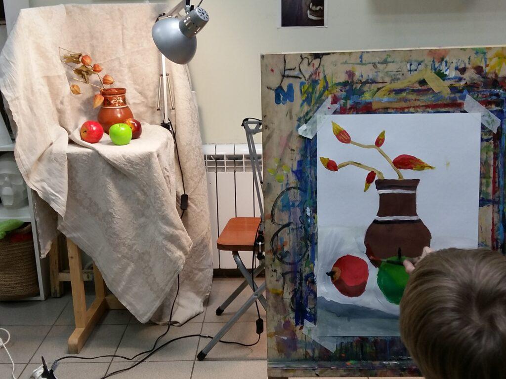 Живопись и рисунок для детей от 8 лет (29)