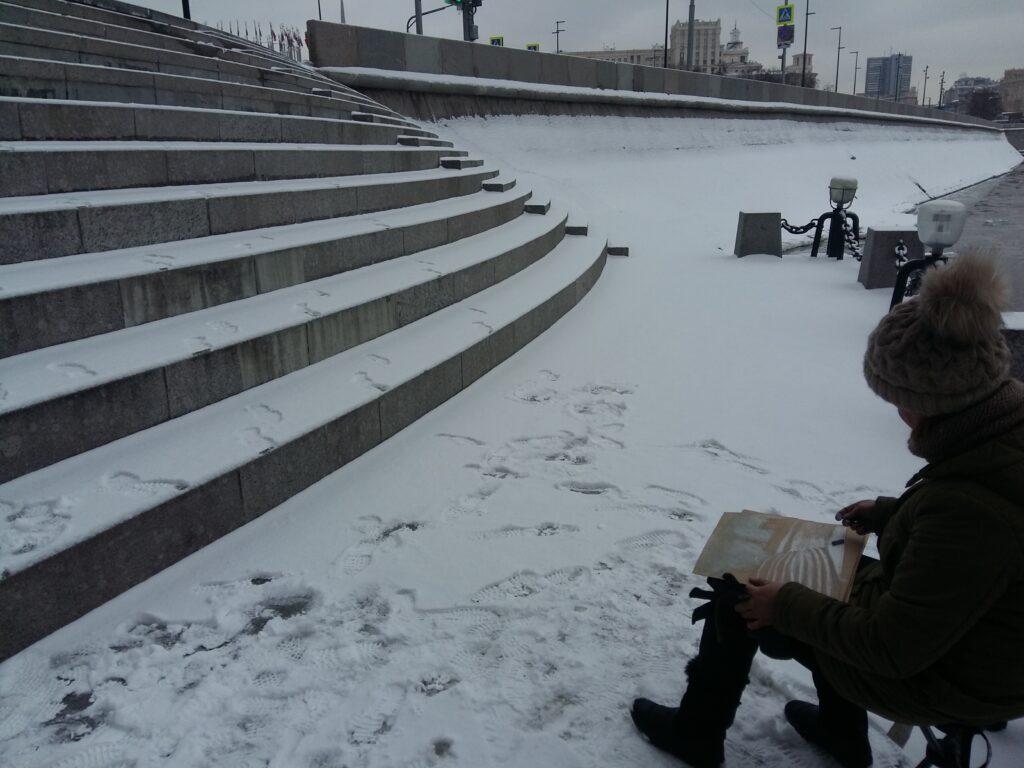Пленэры в Москве (14)