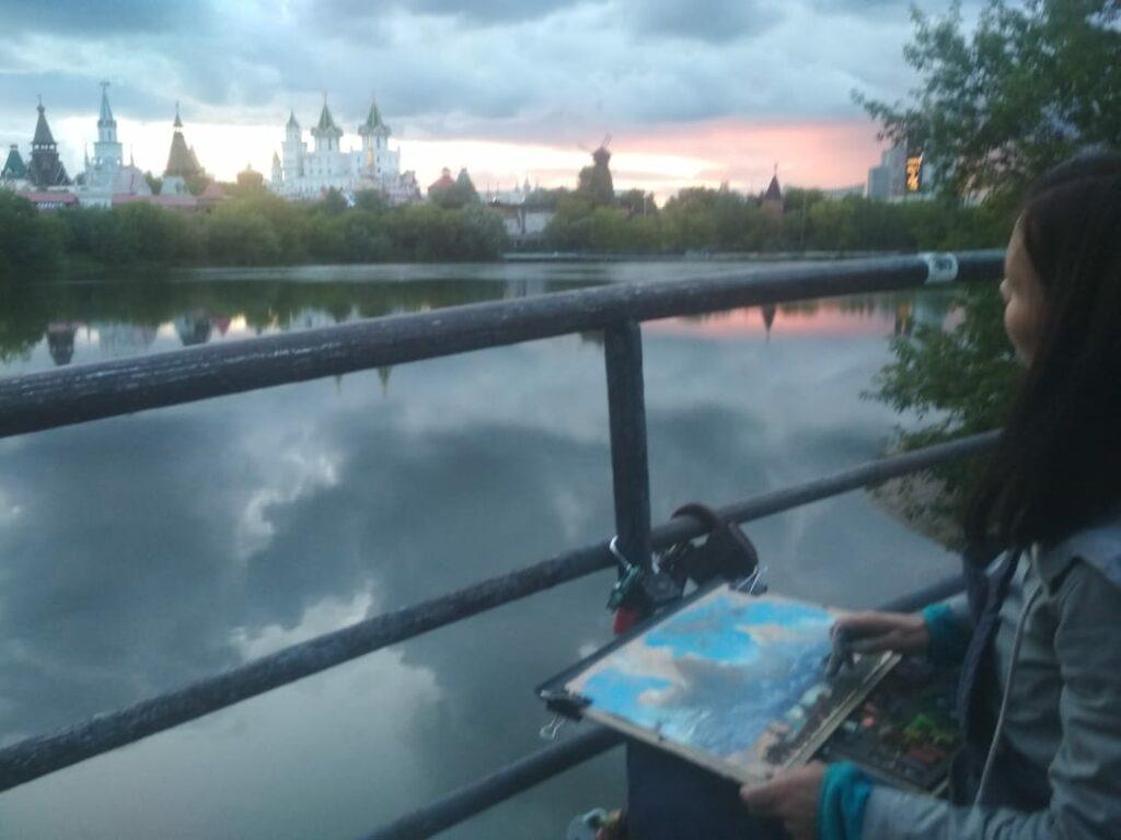 Пленэры в Москве (24)